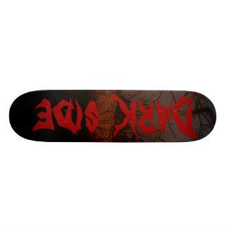 Lado escuro shape de skate 18,7cm