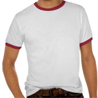 Lado escuro - vermelho & preto t-shirts