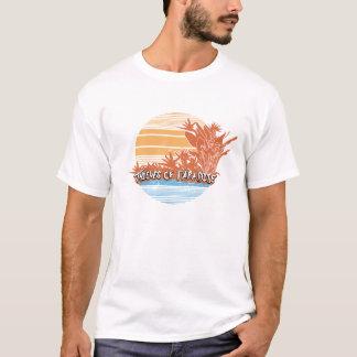 Ladrões do T dos homens do por do sol do paraíso Tshirt