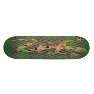 Lagarto Shape De Skate 18,1cm