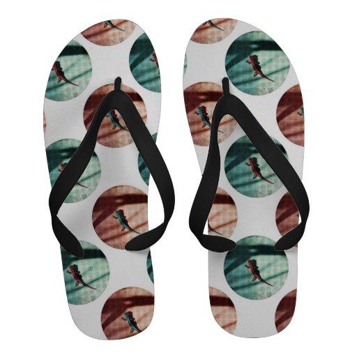 Lagartos Sandálias De Praia