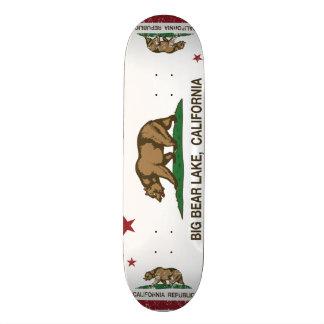 Lago big Bear da república de Califórnia Shape De Skate 18,7cm
