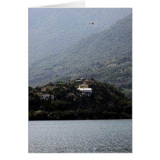 Lago Como - 2 Cartão Comemorativo