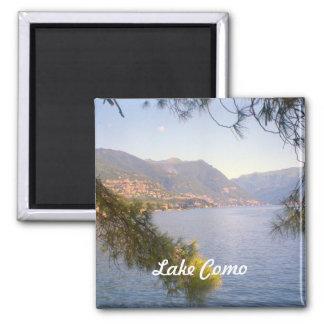 Lago Como 2 Ímã Quadrado