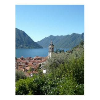 Lago Como Cartão Postal