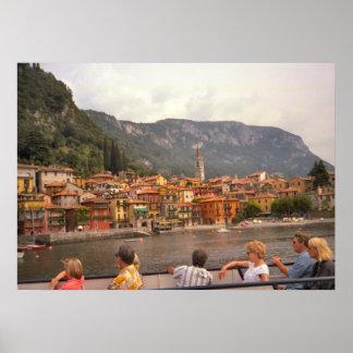 Lago Como chegando em Belaggio Posters