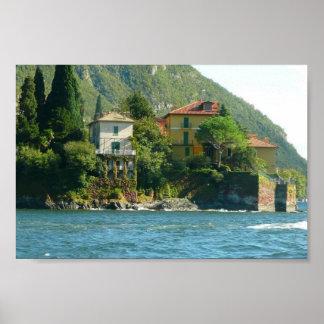 Lago Como - hera & musgo Poster
