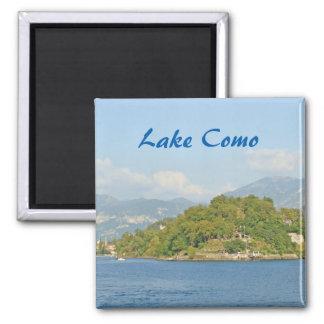 Lago Como - ímã da lembrança Ímã Quadrado