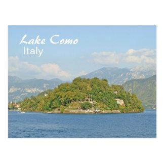 Lago Como, Italia - cartão Cartão Postal