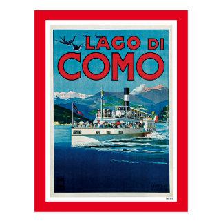 Lago di Como Cartão Postal
