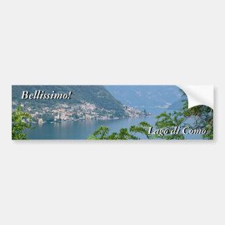 Lago di Como Etiqueta Adesivo Para Carro