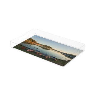 Lago Furnas no por do sol