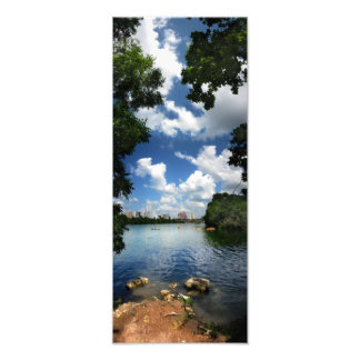 Lago ladybird/skyline 2 de Austin Texas Impressão De Foto