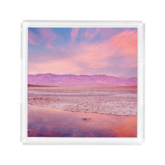 Lago salt Water, Badwater, o Vale da Morte