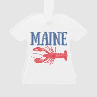 Lagosta de Maine da aguarela