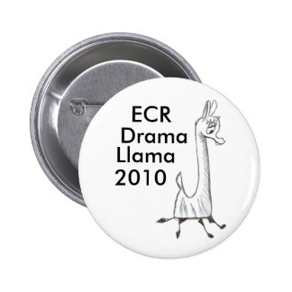 Lama 2010 do drama do ECR Bóton Redondo 5.08cm