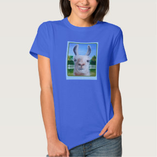 Lama branco, nenhum drama camiseta