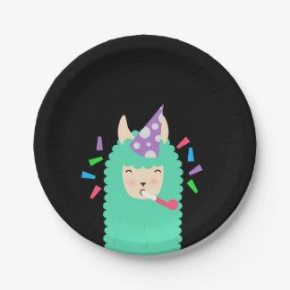 Lama de Emoji do partido do divertimento