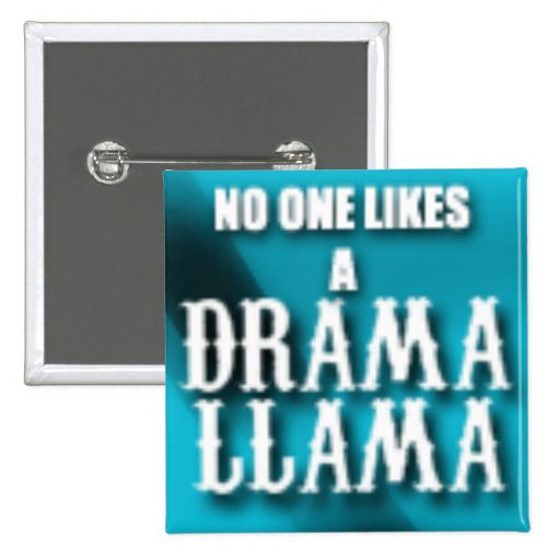 Lama do drama pins