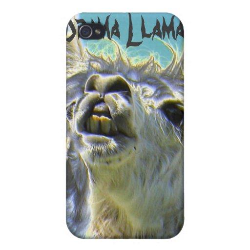 Lama do drama, lama do drama! capa iPhone 4