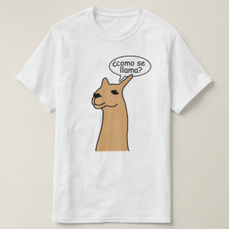 Lama do SE de Como Camiseta