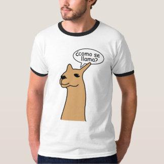 Lama do SE de Como Tshirts