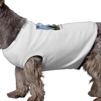 Lama sem o t-shirt do cão do LA do drama Camisa Sem Mangas Para Cachorro