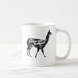 Lamas do te de Como? Caneca de café