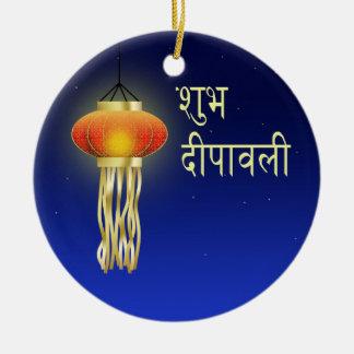 Lâmpada luminosa de Diwali - ornamento
