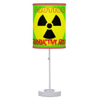 Lâmpada radioativa de GreenTable da área do