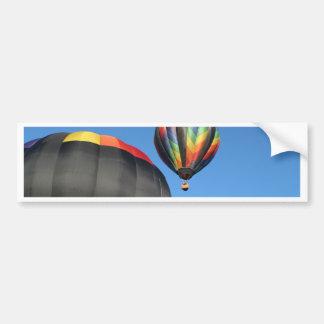 Lançamento colorido dos balões! adesivo para carro