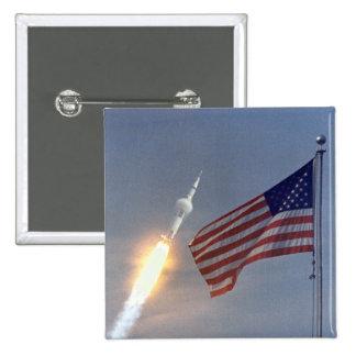 Lançamento de Apollo 11 Botons
