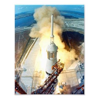 Lançamento de Apollo 11 Impressão De Foto
