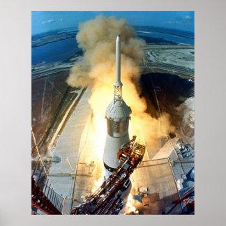 Lançamento de Apollo 11 Poster