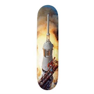 Lançamento de Apollo 11 Shape De Skate 18,1cm