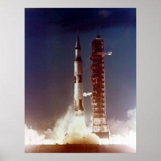 Lançamento de Apollo 4 Poster