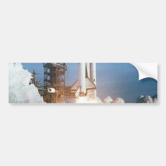 Lançamento de Colômbia do vaivém espacial Adesivo Para Carro
