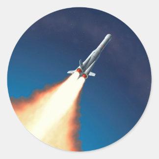 Lançamento de Rocket Adesivo