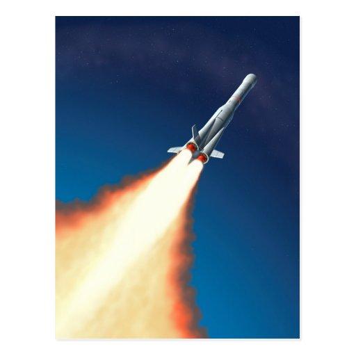 Lançamento de Rocket Cartões Postais