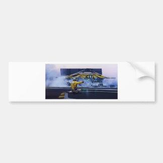Lançamento do bombardeiro adesivo para carro