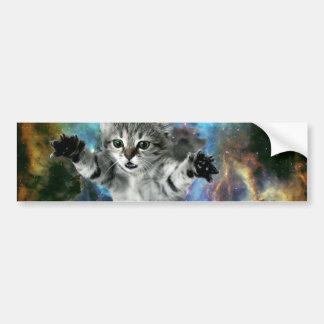 Lançamento do gatinho do universo do gato da adesivo para carro