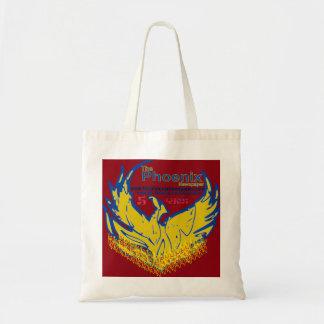 lançamento do jornal de saco-personalizar-phoenix sacola tote budget