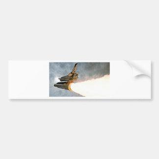 Lançamento do vaivém espacial adesivo para carro