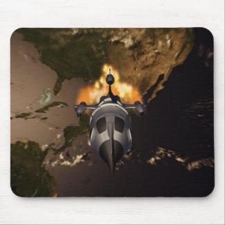 Lançamento Mousepad de Rocket retro