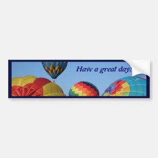 Lançamento, presentes e tais do balão adesivo para carro