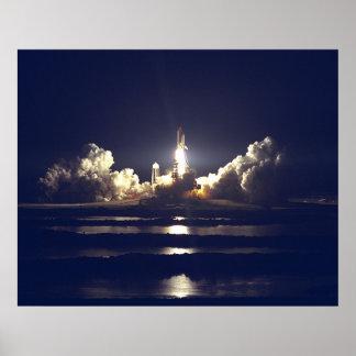 Lançamento STS-86 Poster