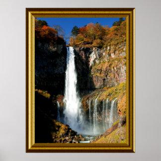 Landscape-Waterfall-1 Poster