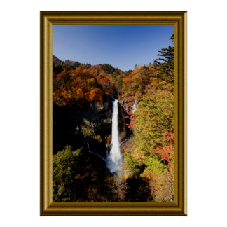 Landscape-Waterfall-3 Poster