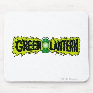 Lanterna verde - lanterna de incandescência 2 mouse pad