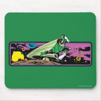 Lanterna verde no espaço mousepad